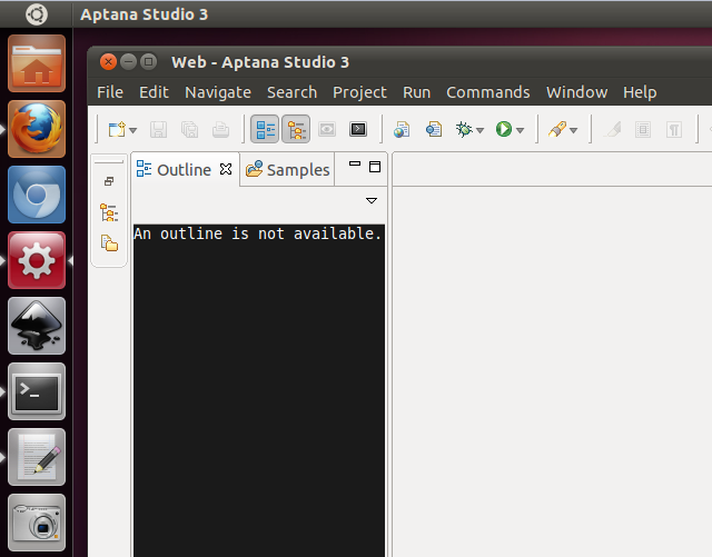 Ubuntu Unity launcher for Aptana Studio | Cloud Denizen